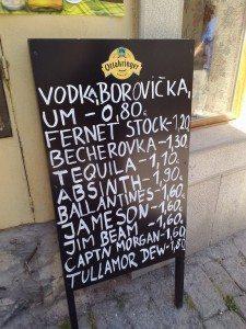 Bratislava cheap drinks