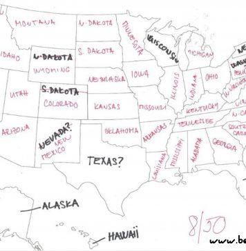 mapa ameriky