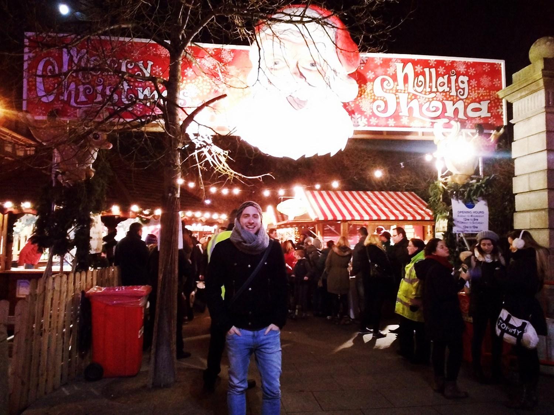 vianočné trhy v Dubline