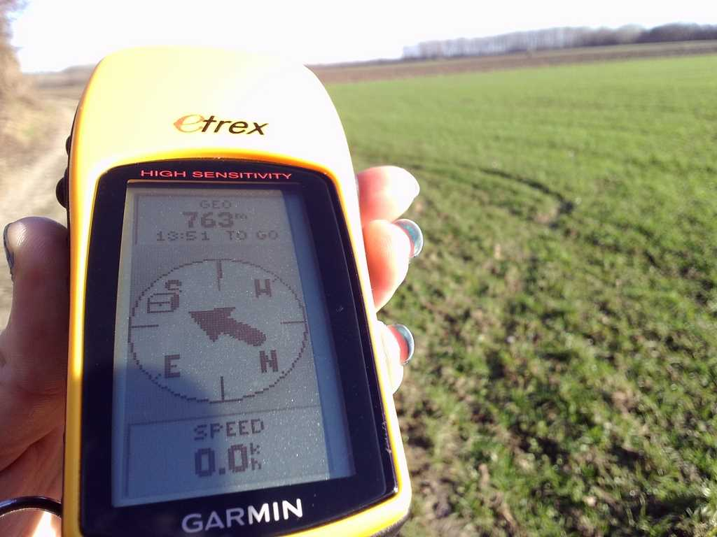 Garmin Etrex H for Geocaching purposes