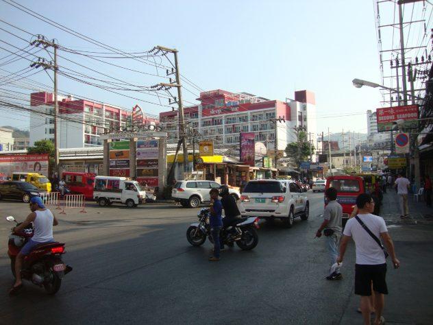 Patong streets