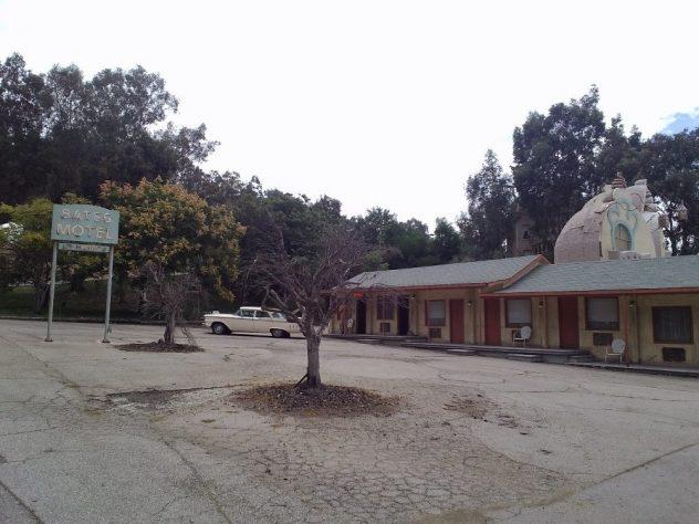 Universal Studios Bates hotel