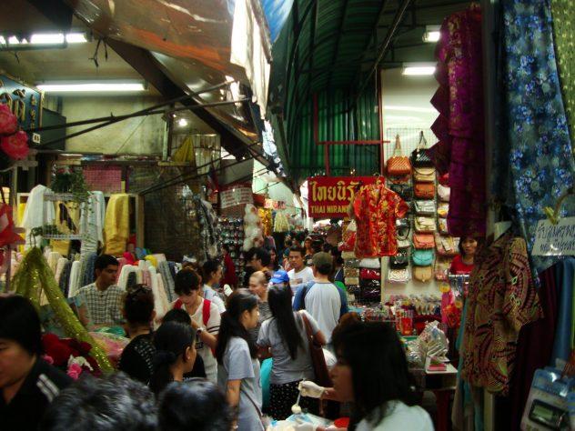 Crowded Bangkok