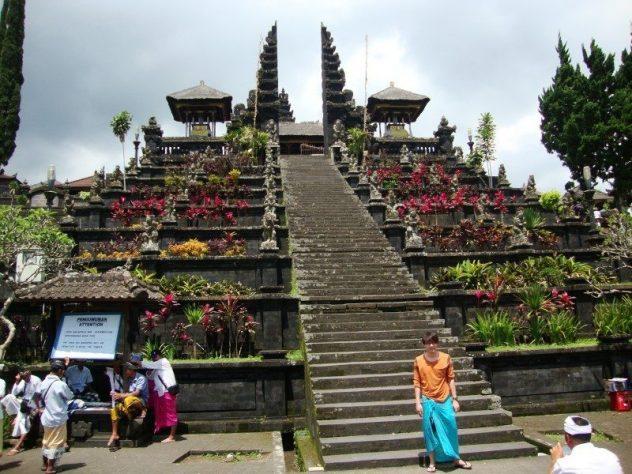 chram Pura Pura Besakih temple Bali