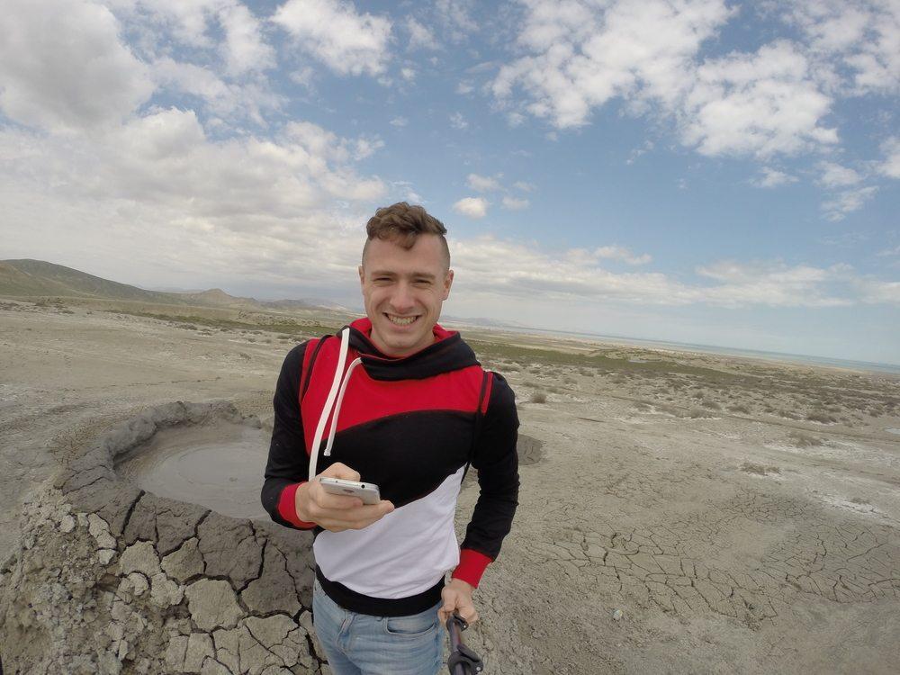 mud vulcano azerbajdzan