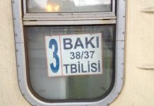 vlakom z baku do tbilisi