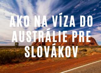 Ako vybaviť turistické víza do Austrálie pre Slováka v 2020