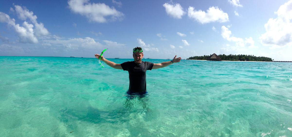 Ostrovy na Maldivách