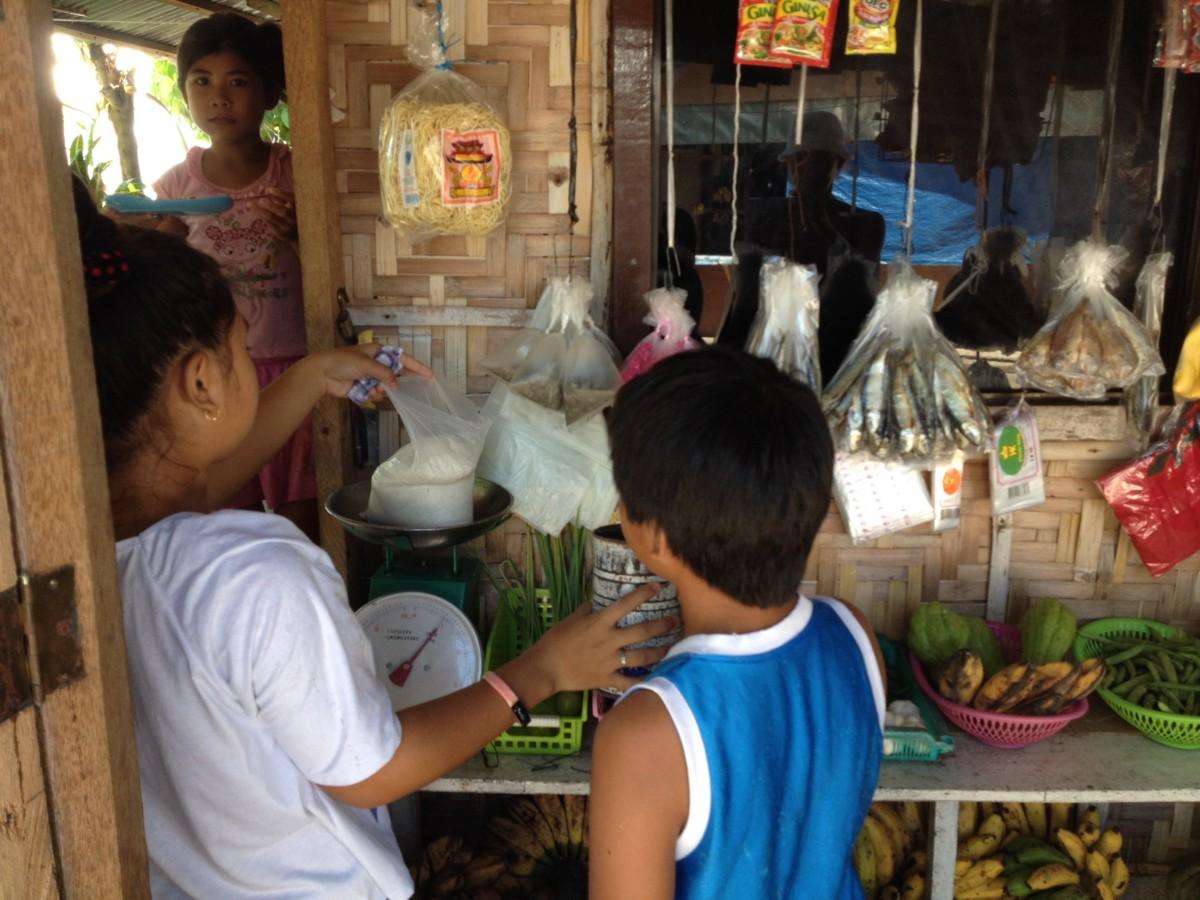 jedlo na filipínach