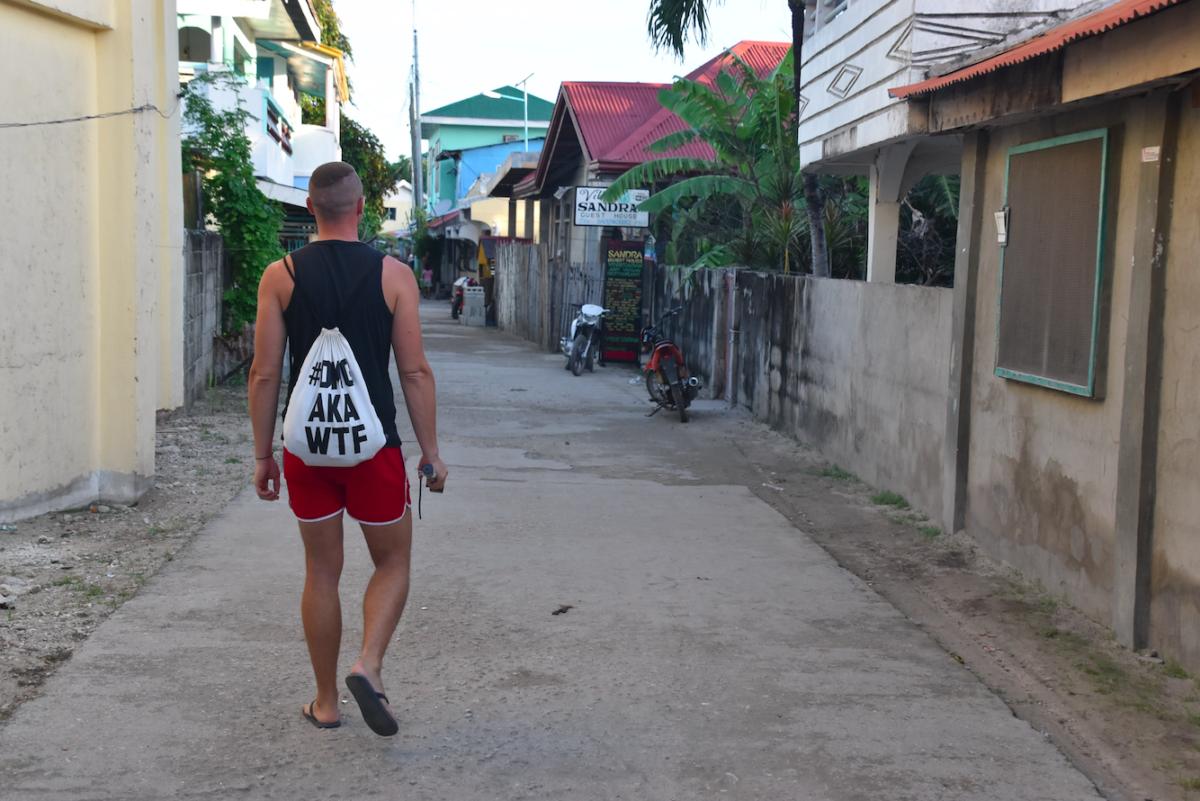 ostrov malapascua na filipínach