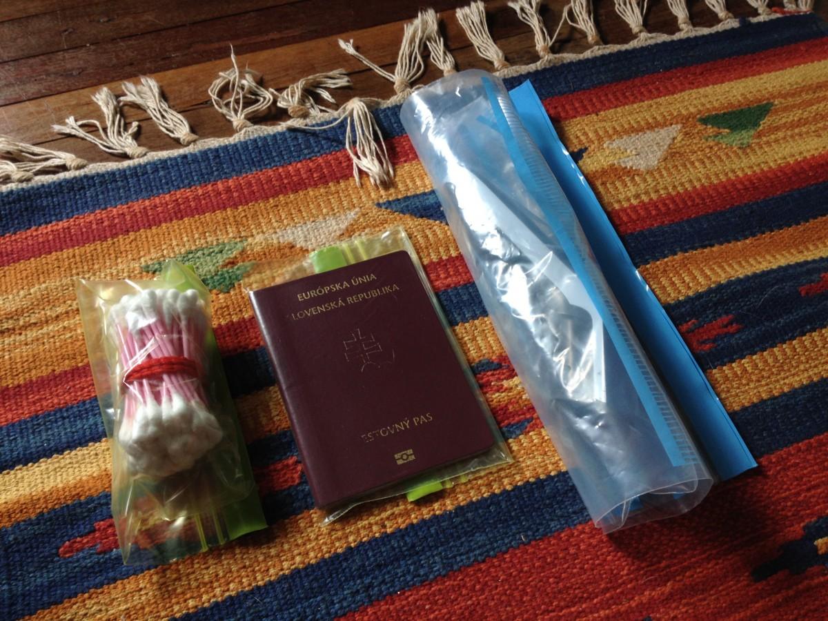 Balenie do príručnej batožiny