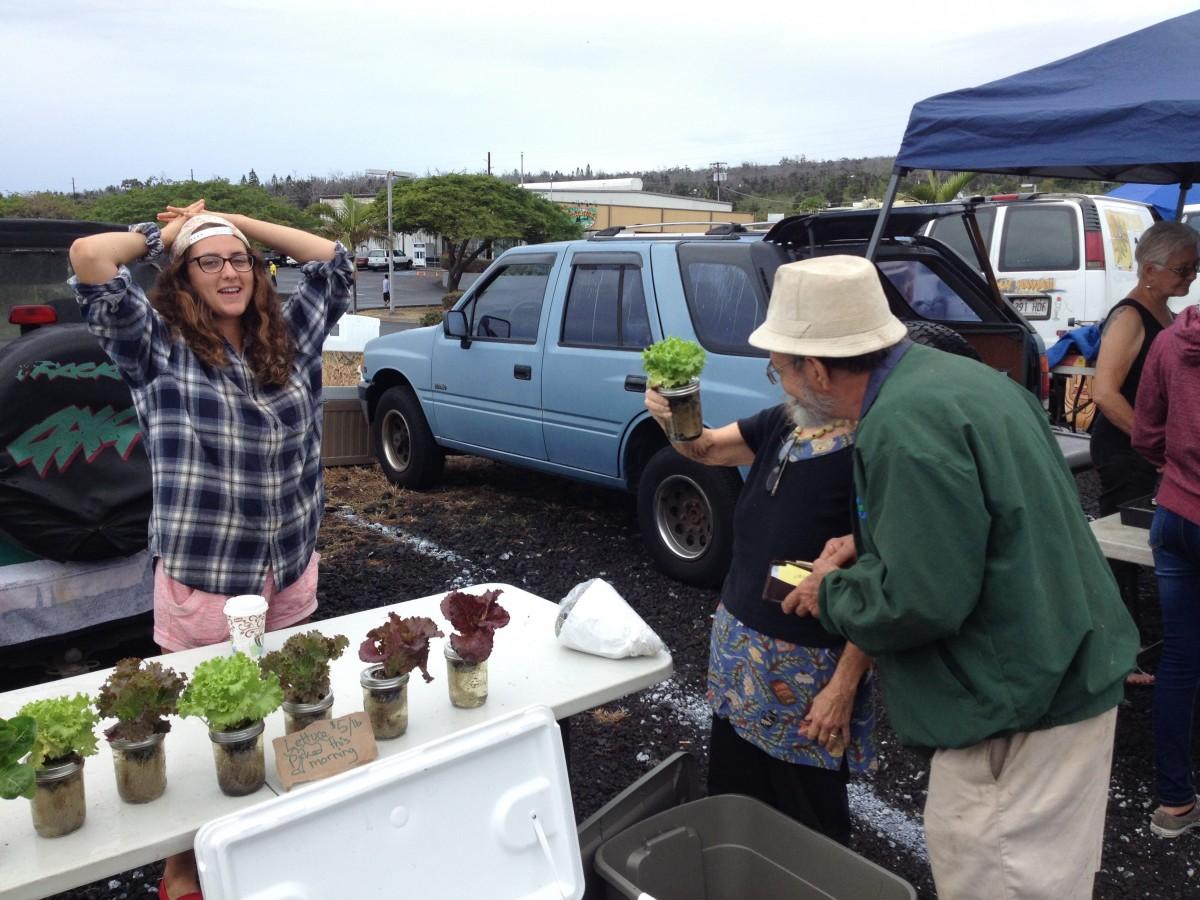 Práca na Farme na Havaji