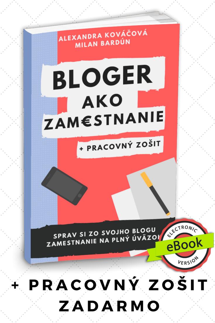 Bloger ako zamestnanie: Kniha ako zarábať blogom
