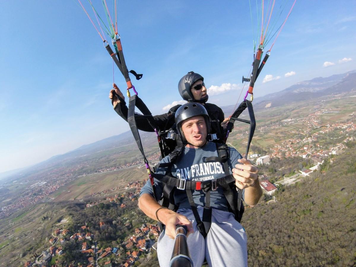 paragliding in Niš