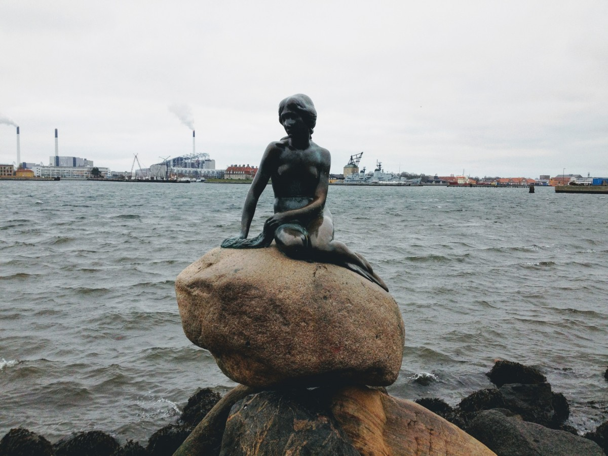 malá morská víla dánsko kodaň