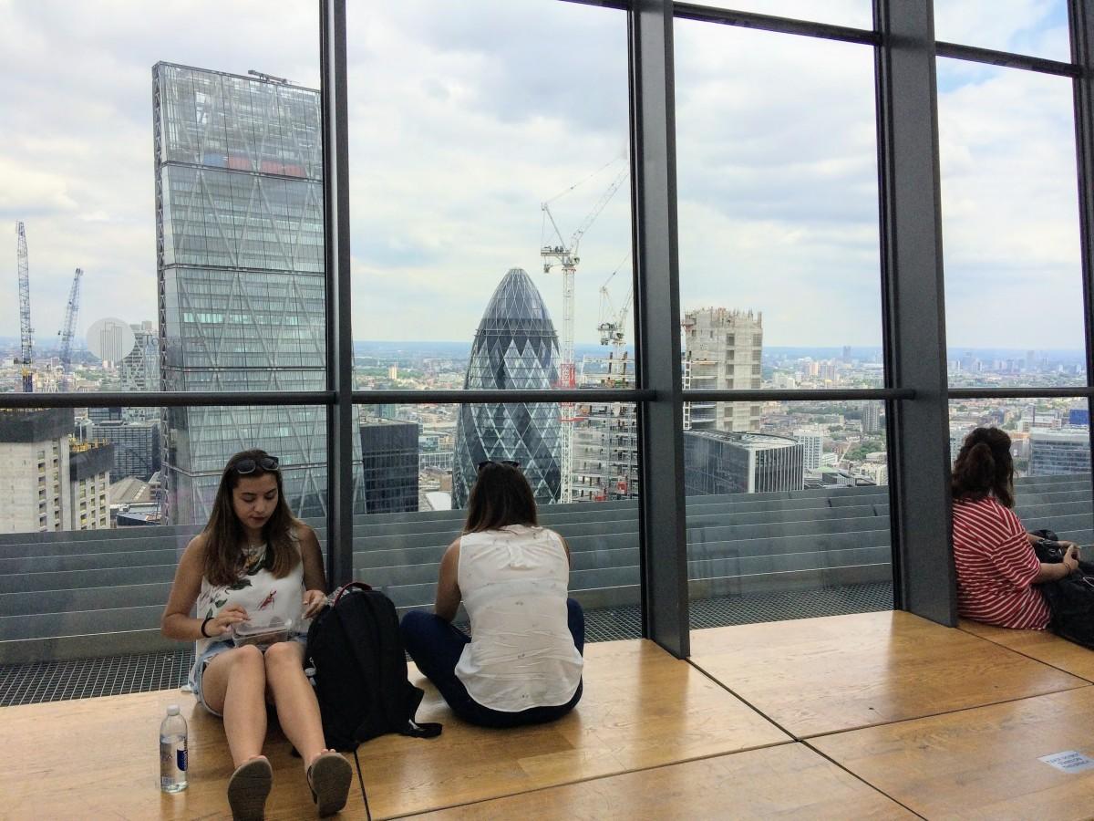 výhľad na Londýn skygarden