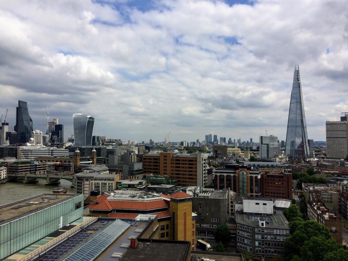 výhľad na Londýn tate modern