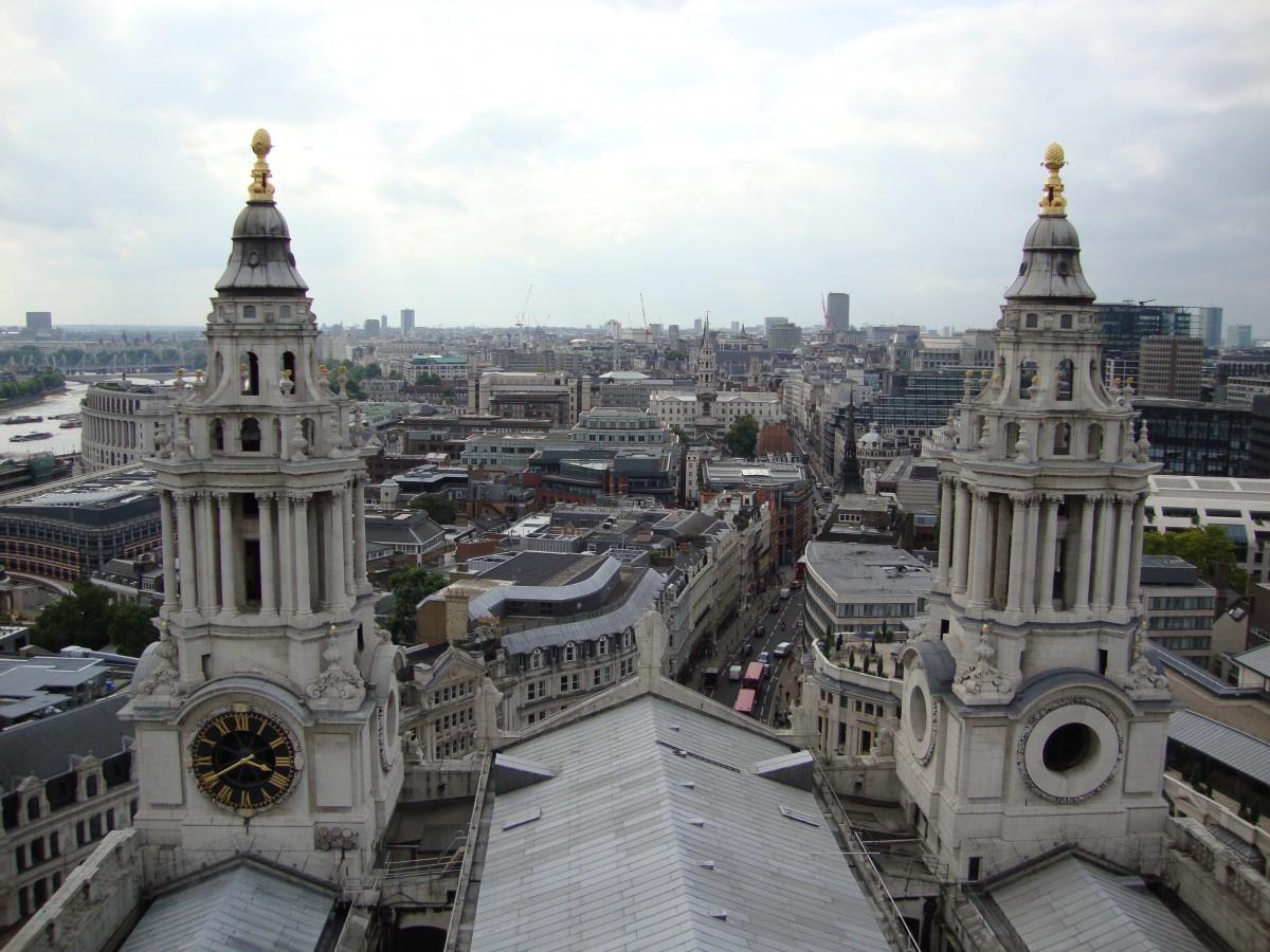 výhľad Londýn