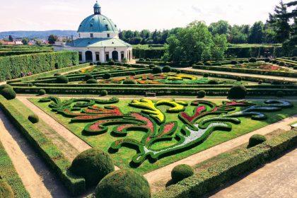 květná zahrada kroměříž
