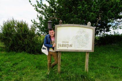 Návšteva Hobbitonu na Novom Zélande