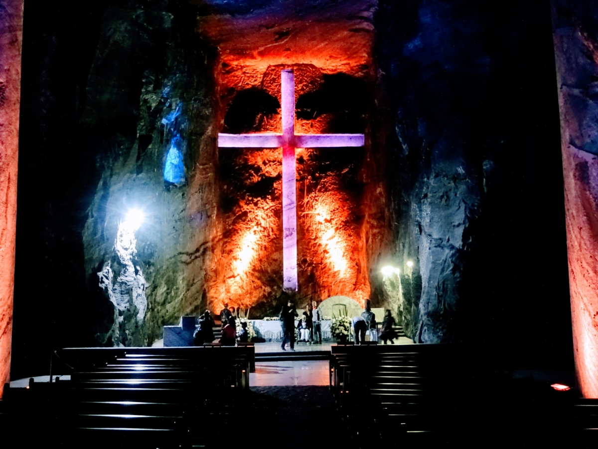 Výlet z Bogoty do Salt Cathedral v Zipaquíra