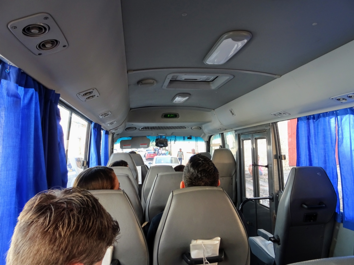 Bus from Cartagena to Playa Blanca