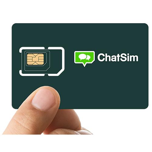 Medzinárodná SIM karta do zahraničia ChatSim