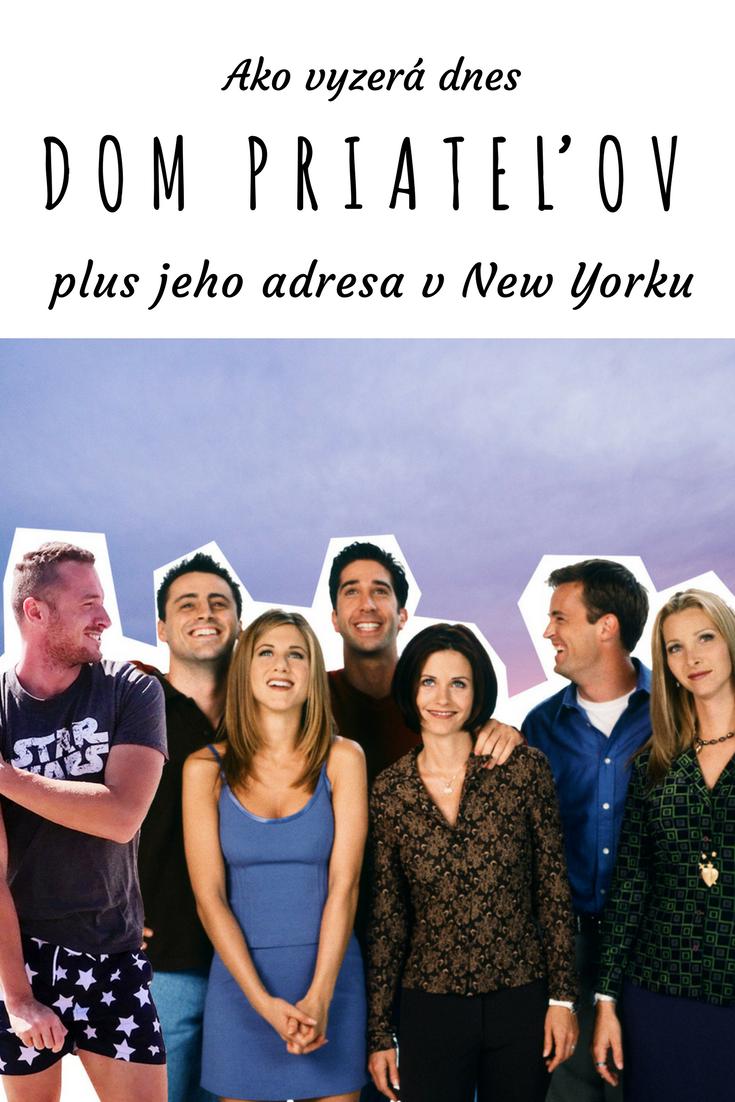 Dom priateľov v New Yorku patrí medzi zastávky všetkých fanúšikov tohto seriálu. Prečítaj si, aká je jeho adresa a čo môžeš očakávať. Zastav sa pri dome Priateľov v New Yorku na známej adrese na Manhattane.