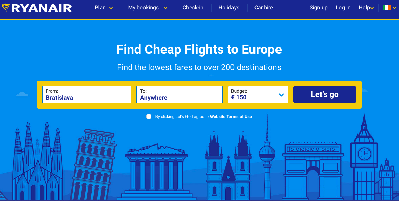 Natočil som jednoduchý video návod, ako hľadať lacné letenky pomocou nástroja Ryanair Fare Finder. Pozri si, ako som našiel lacnú letenku za menej ako 40 sekúnd. Ryanair Fare Finder je super nástroj na hľadanie lacných leteniek, ktorý používam nonstop.