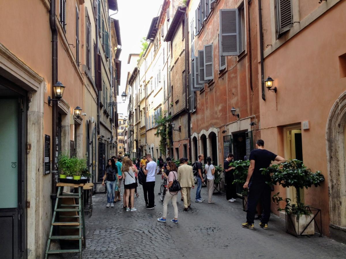 kam ísť v ríme