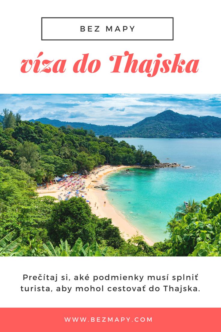 Prečítaj si, aké podmienky musí splniť turista, aby mohol cestovať do Thajska.