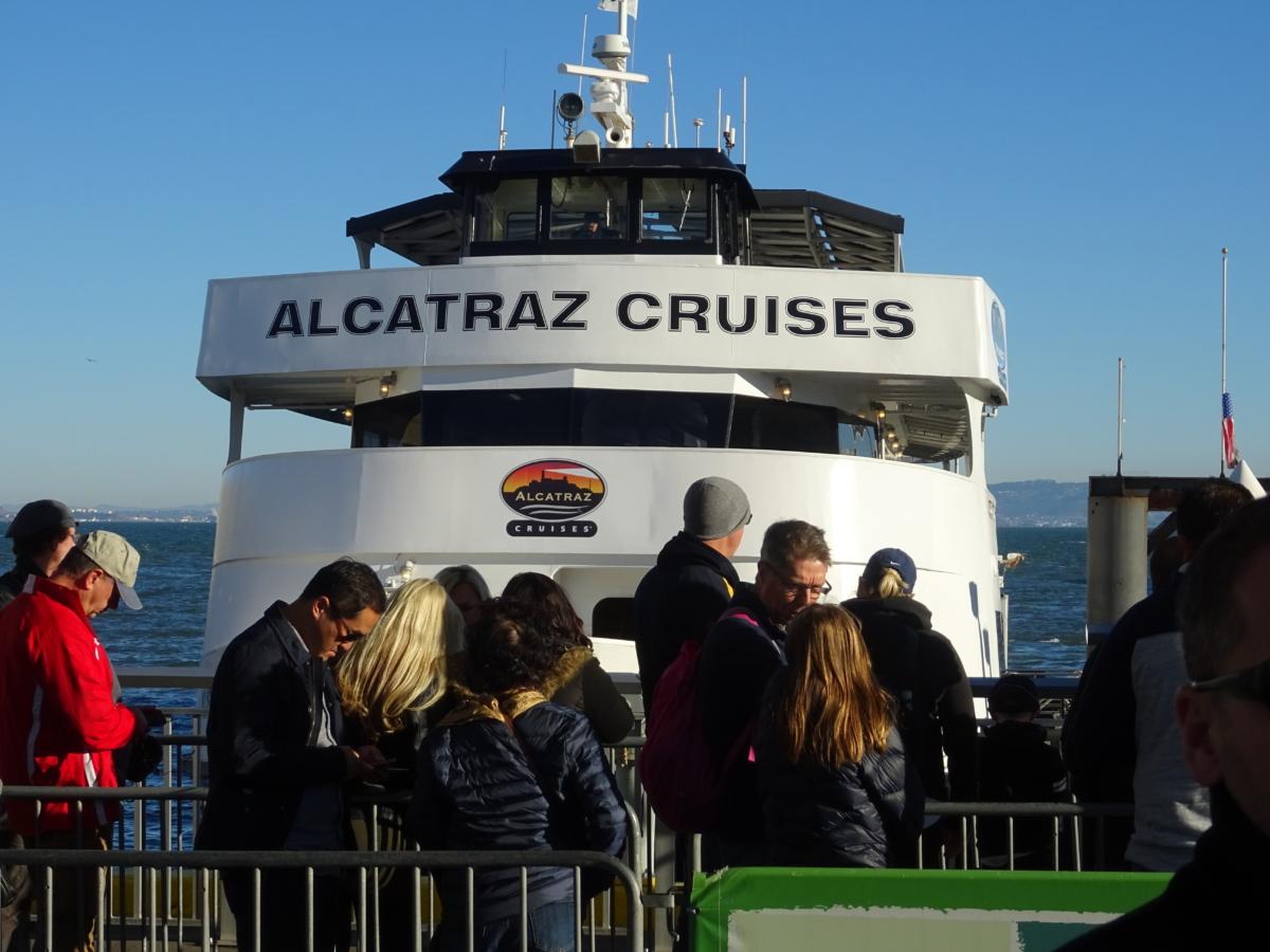 návšteva alcatrazu v san franciscu