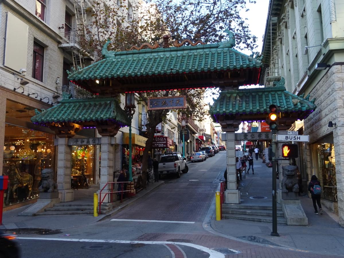 čínska štvrť v san franciscu