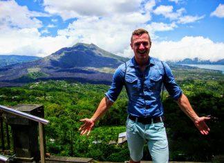 Sopka na Bali