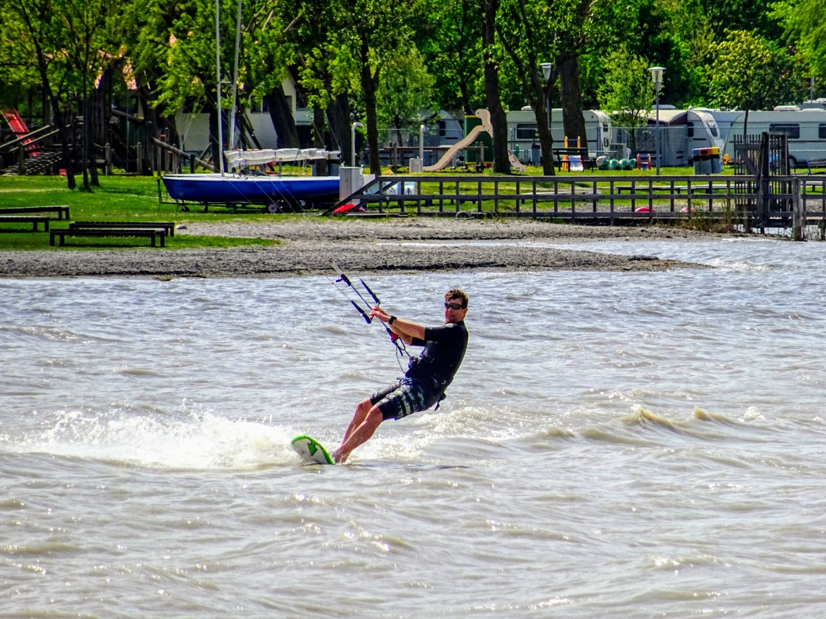 športy na neusiedlerskom jazere