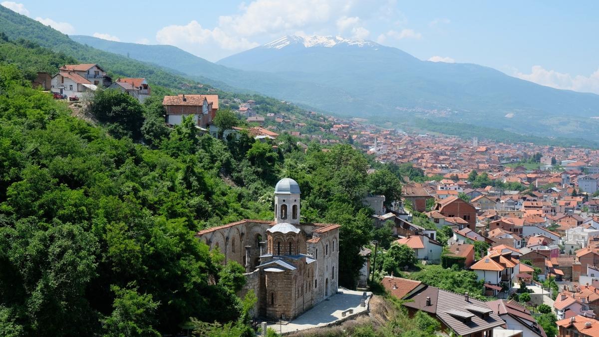 Mesto Prizren v Kosove