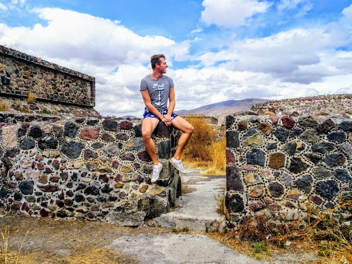 teotihuacan v mexiku