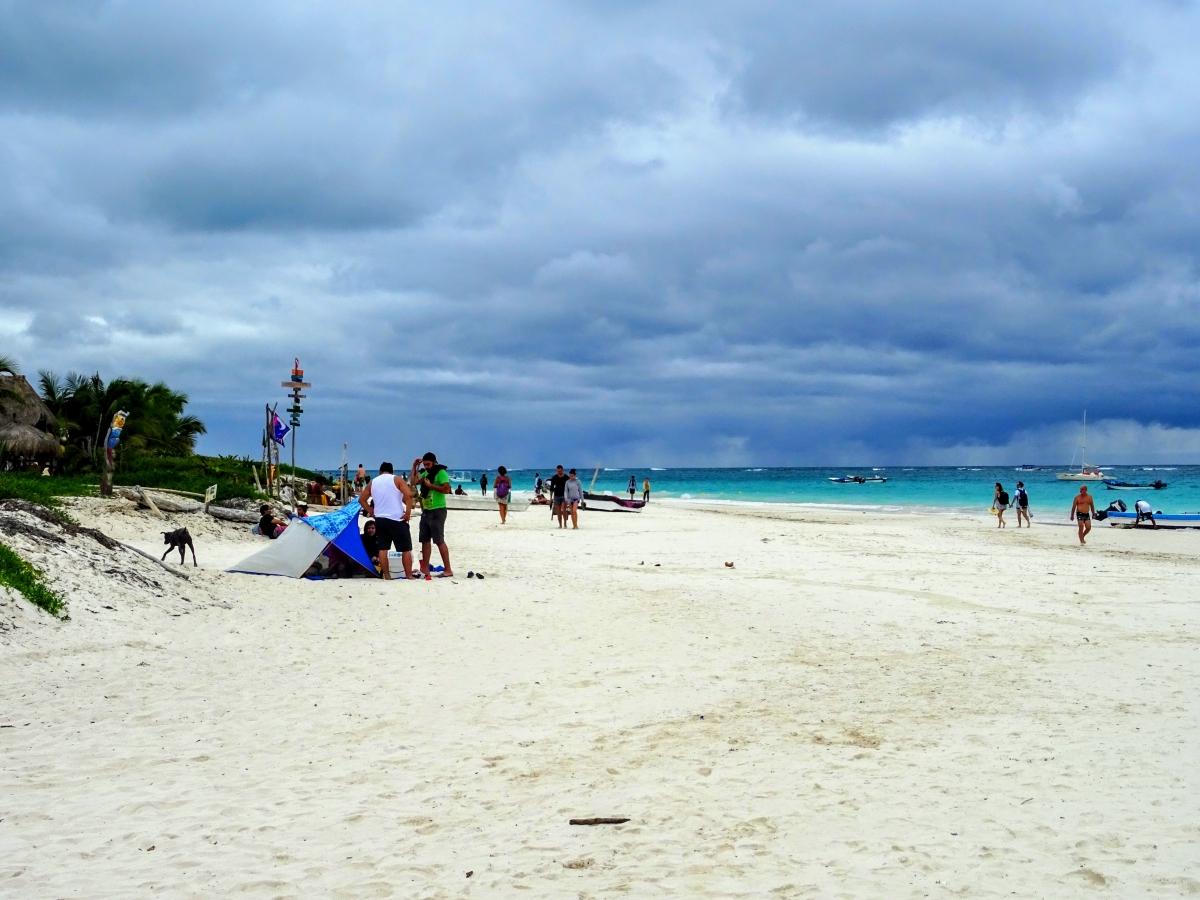 Tulum pláže