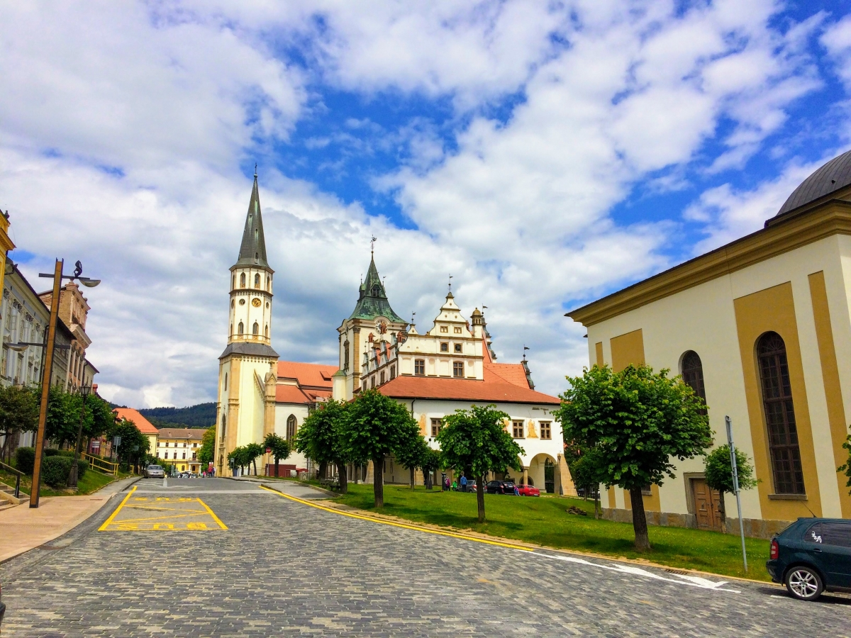centrum Levoče