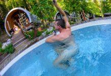 Kúpalisko Zelená Žaba v Trenčianskych Tepliciach saunový svet