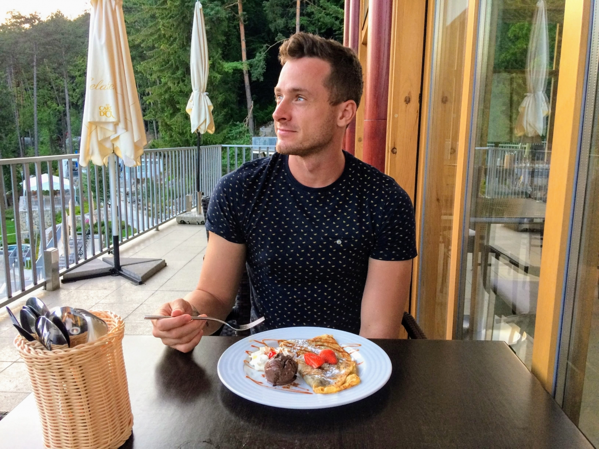 Kúpalisko Zelená Žaba v Trenčianskych Tepliciach reštaurácia