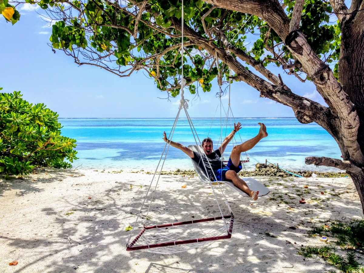 pláže na maldivách