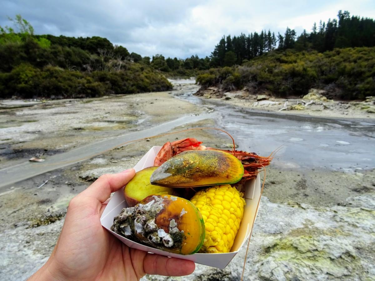 Snack na Novom Zélande