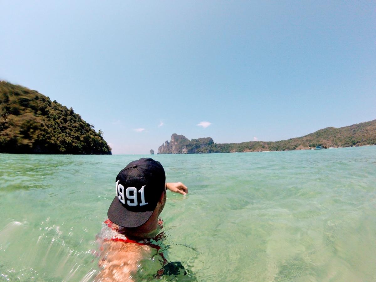 pláže na phi phi