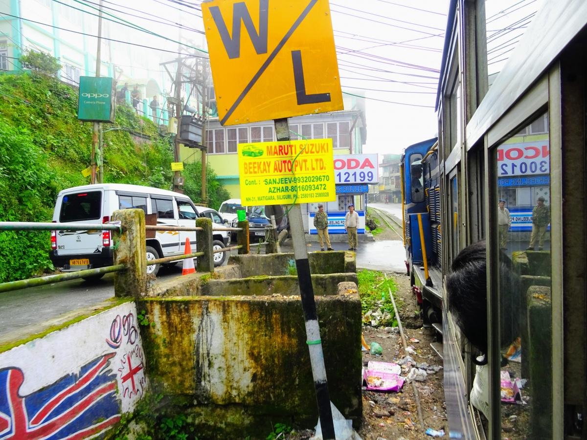 Himalájska železnica v Darjeelingu