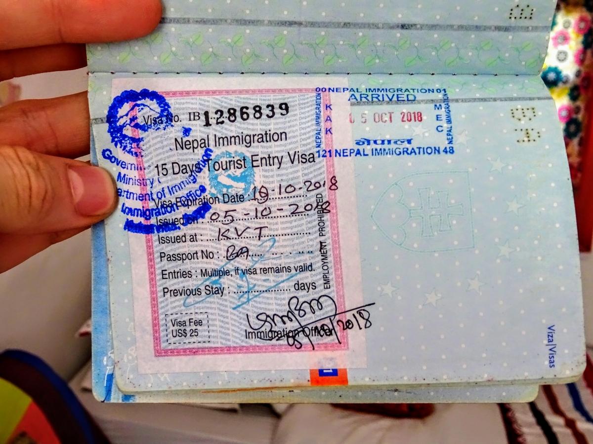víza do nepálu slovensko