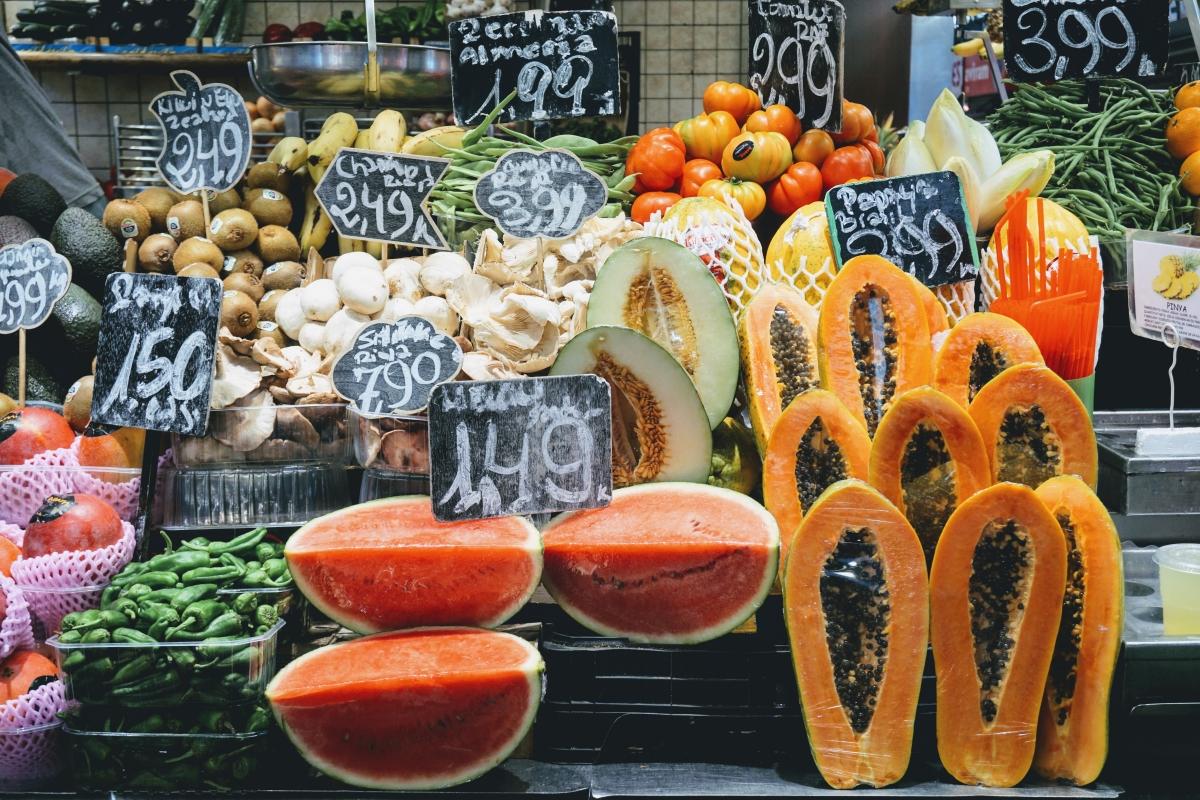 trhy v barcelone