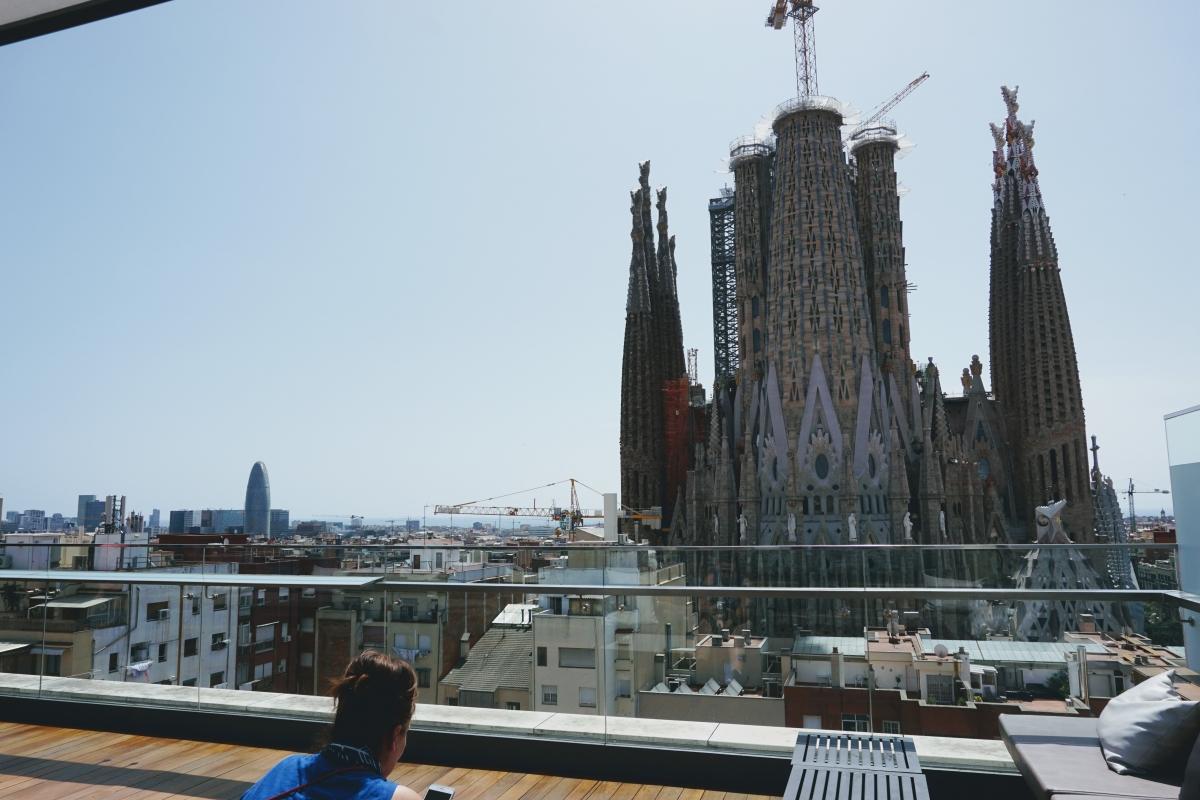 skybar v barcelone Ayre Hotel Rosellón