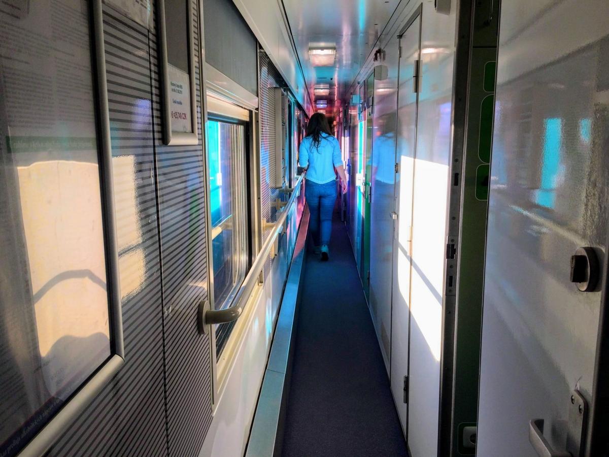 Nočný vlak z Košíc do Bratislavy a moja FOTO reportáž