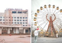 Návšteva Černobyľu